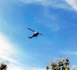Medsos Dihebohkan dengan Foto Heli Malaysia Mendarat di Sebatik