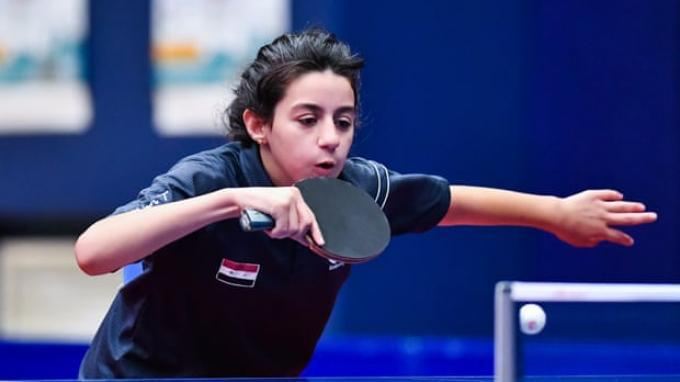 Hend Zaza, Atlet Termuda Olimpiade Tokyo 2021 Asal Suriah - Tempat Latihan Seadanya