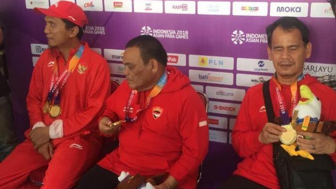 Panen Emas, Indonesia Geser Jepang di Posisi Ke-5 Klasemen Sementara Asian Para Games 2018