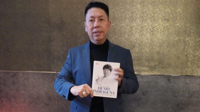 Henry Indraguna di acara peluncuran buku biografinya berjudul True Story Henry Indraguna : Pengusaha, Pengacara & Nasionalis Sejati di Hotel Manhattan, Jakarta, Jumat (30/8/2019) malam.