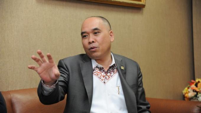 Anggota Komisi XI DPR RI Heri Gunawan.Foto Dok/rni/dpr ri