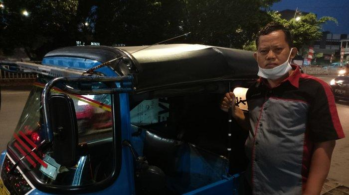 PPKM Diperpanjang: Tukang Bajaj di Kampung Melayu Merasakan Imbasnya