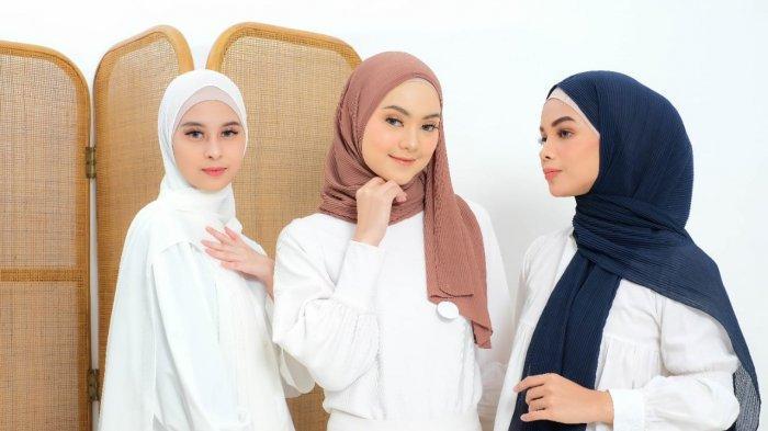 Hijab Pasmina menjadi satu di antara tren fesyen