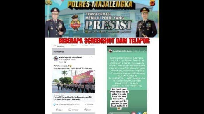 Pemuda asal Majalengka Ini Diciduk Gara-gara Hina Polisi di Medsos Soal Larangan Mudik