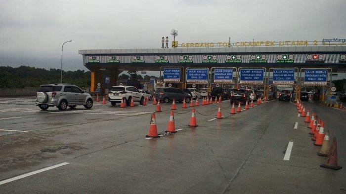 52.363 Kendaraan Kembali ke Jakarta pada H+3 Tahun Baru 2020