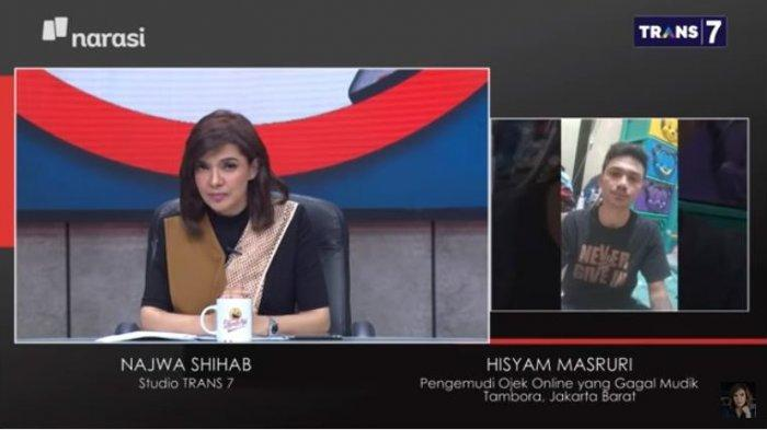Najwa Shihab Jelaskan Sanksi Bila Mudik, Driver Ojol : Makan Aja Bingung Boro-boro Bayar Denda