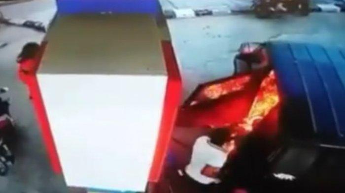 Hoaks Viral Kebakaran Pom Bensin Sambiroto Semarang Akibat Main Hp, Ini 5 Fakta Sebenarnya
