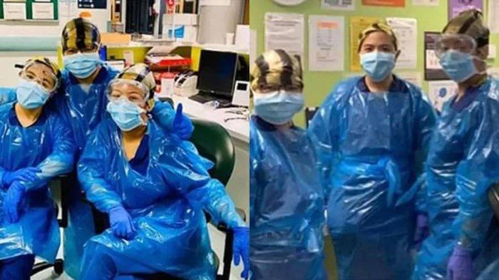 Tiga Perawat Inggris Positif Covid-19, Sebelumnya Pakai Kantong Sampah sebagai APD