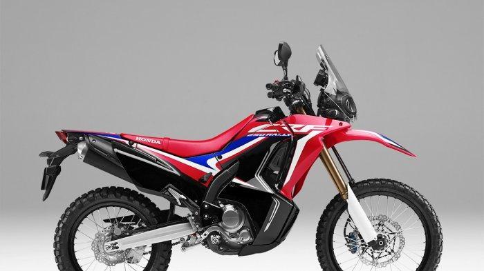 Honda Tawarkan 2 Warna Baru di Motor Adventure Tourer CRF250 Rally