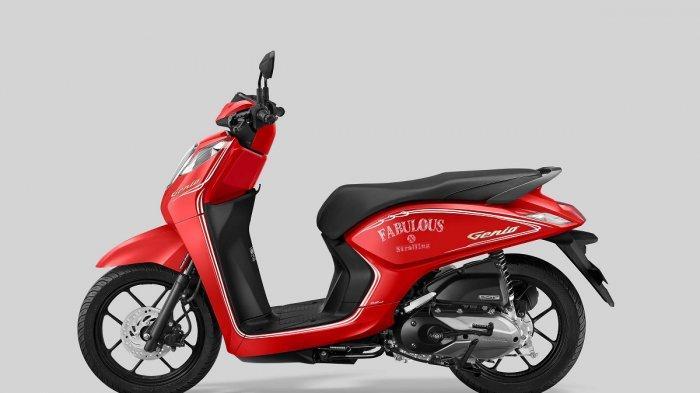 Honda Genio Punya 4 Warna Baru Bergaya Classy