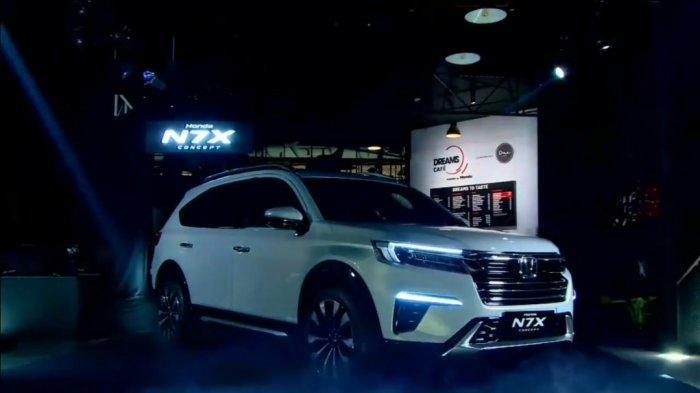 Honda Belum Pastikan Kapan N7X Concept Mulai Diproduksi Massal di Indonesia