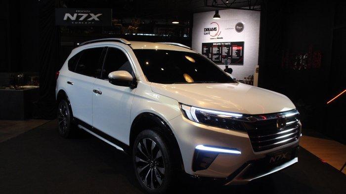Honda Pamerkan SUV 7-Seater N7X Concept di Dreams Café Senayan Park
