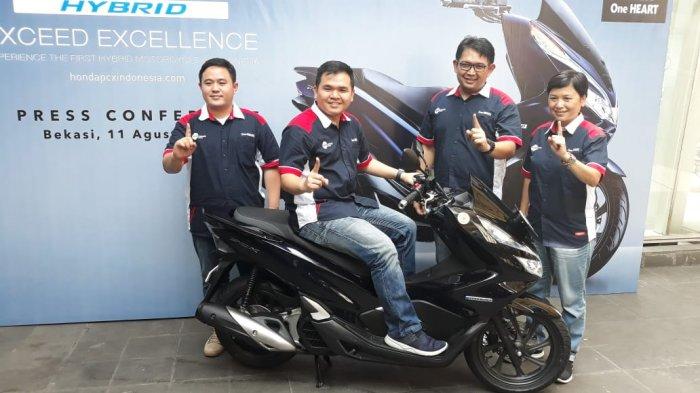 Honda PCX Hybrid Resmi Dipasarkan di Jawa Barat