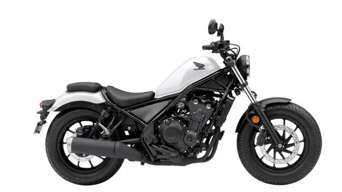 Honda Rebel Punya Varian Warna Baru Matte White, Harganya Segini
