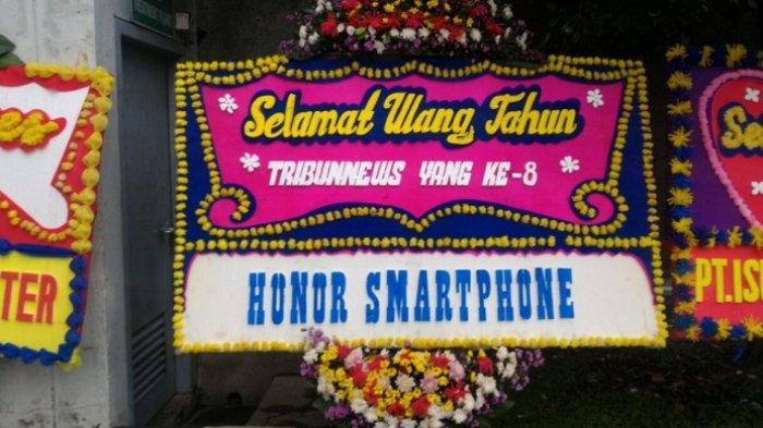 Honor Smartphone Ucapkan Selamat HUT ke-8 Tribunnews.com