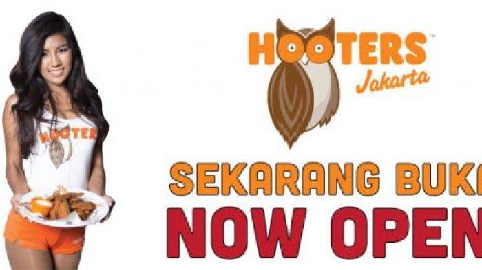 Restoran The Hooters Dibuka di Indonesia, Penampilan Pelayannya Bikin 'Meriang'