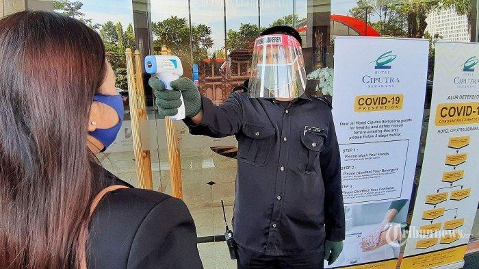Protokol Kesehatan di Hotel, Kamar Disemprot Disinfektan Sebelum Digunakan
