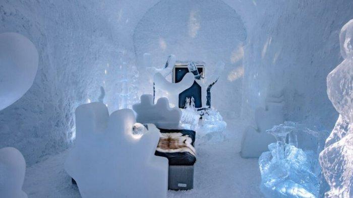 Icehotel Swedia Kenalkan Tampilan Baru Tahun 2021, Punya 12 Art Suites yang Unik