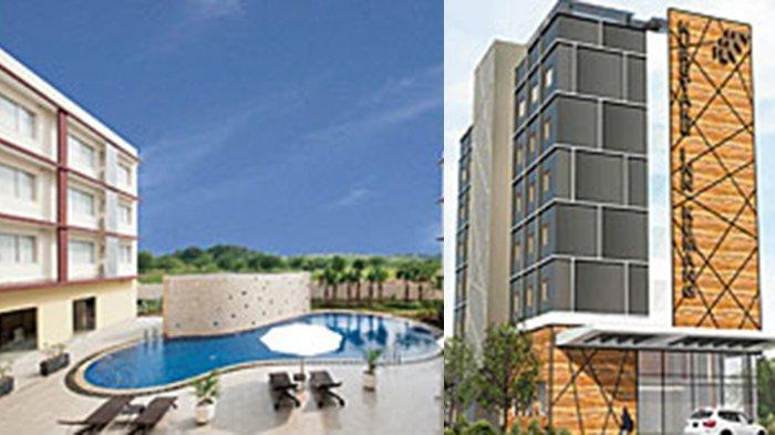 Hotel Kuretakeso  di Delta Mas (kiri), Cikarang Bekasi,  dan Hotel Kuretaso Kemang (kanan)