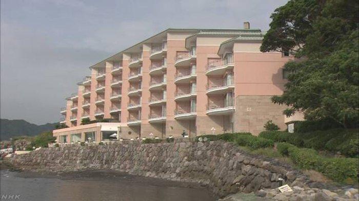 Hotel mewah Awashima Hotel di Numazu Perfektur Shizuoka diputuskan bangkrut oleh Ppengadilan Jepang.