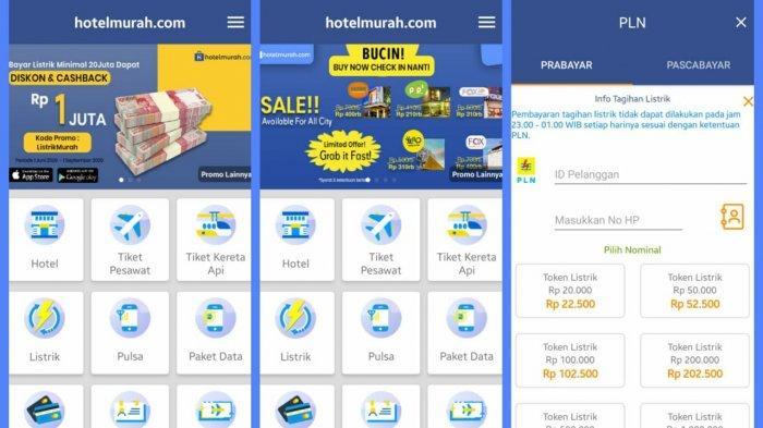Hotelmurah.com Siapkan Diskon dan Cashback untuk Pembayaran Listrik di Atas 20 juta