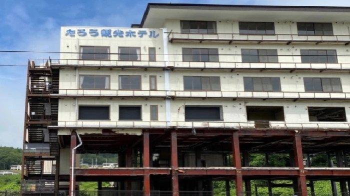 Cerita Balik di Hotel Taro Kanko yang Hanya Rusak Setengahnya saat Tsunami Melanda Jepang