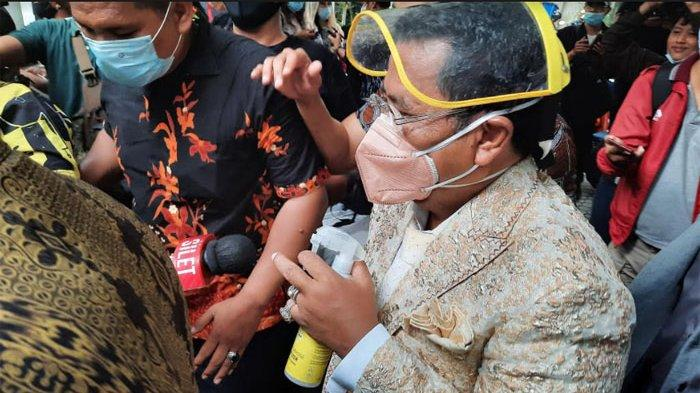 Hotman Paris saat ditemui di kawasan Antasari, Jakarta Selatan, Senin (29/3/2021)
