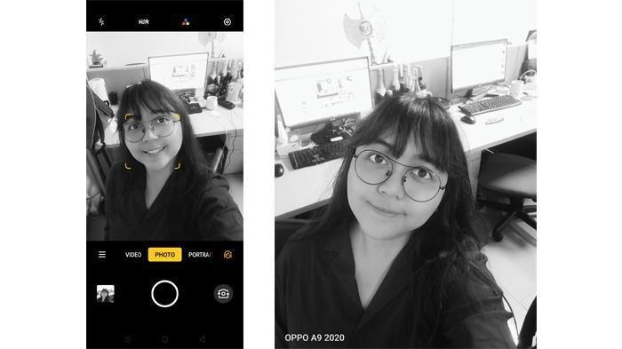 Hasil foto menggunakan fitur filter.