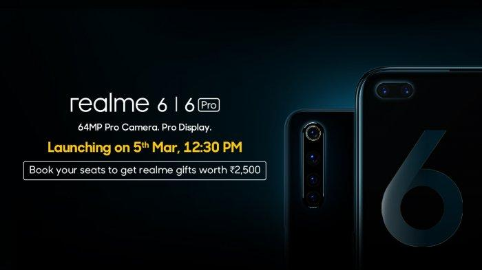HP Realme 6 dan Realme 6 Pro.
