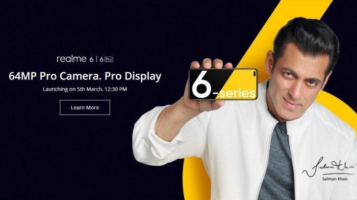 Harga dan Spesifikasi HP Realme 6 dan Realme 6 Pro, Kamera Utama 64MP Dirilis 24 Maret 2020