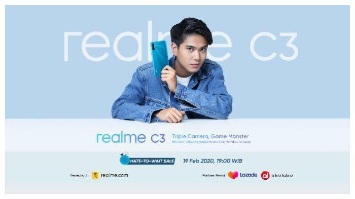 HP Realme C3 Dirilis di Indonesia Besok, 19 Februari 2020: Baterainya 5000 mAh, Ini Spesifikasinya