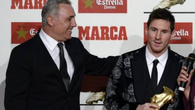 Hristo Stoichkov dan Lionel Messi
