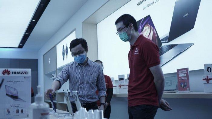 Huawei Operasikan Toko High-End Experience di Mal Puri Indah