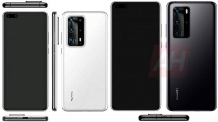Bocoran Spesifikasi Lengkap Beserta Harga Huawei P40 dan P40 Pro (Gsmarena)