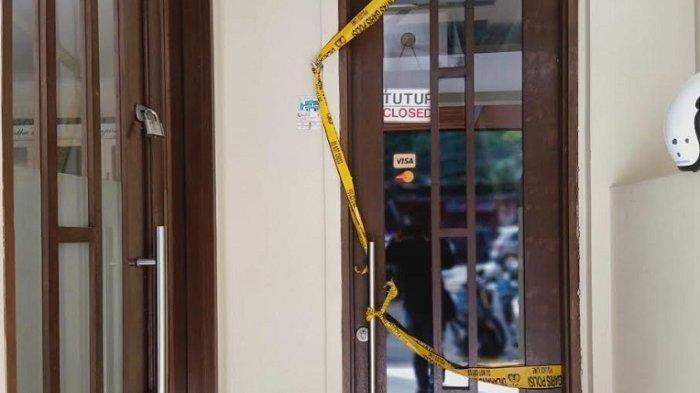 Hubsch Clinic, yang terletak di Ruko Bellepoint, Jalan Kemang Selatan VIII, Selasa (14/1/2020). Klinik tersebut digrebek polisi karena praktik suntik sel punca atau stem cell ilegal.
