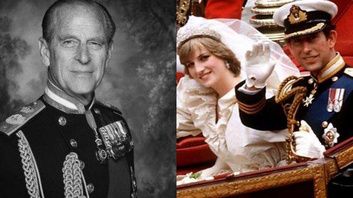 Suami Ratu Elizabeth II, Pangeran Philip ternyata memiliki hubungan yang dekat dengan mantan istri Pangeran Charles, Putri Diana.