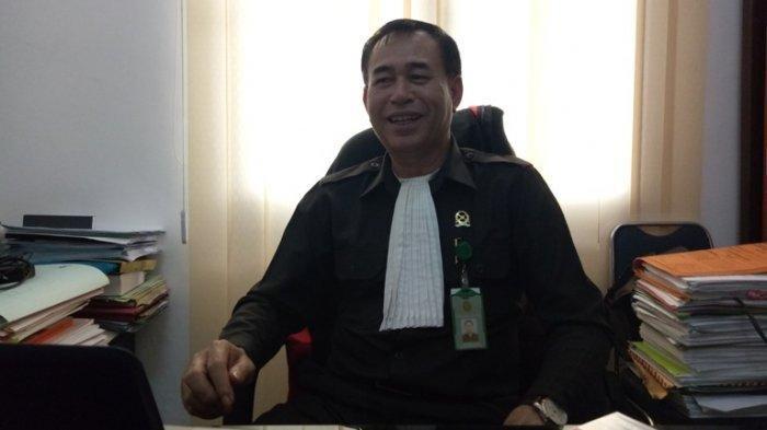 Humas Pengadilan Negeri (PN) Medan Jamaluddin. TRIBUN MEDAN/VICTORY HUTAURUK