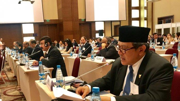 Husnan Bey Fananie Bicara di Konperensi PBB: Rakyat Indonesia Tak Terima Masjid Aqsa Ditutup!