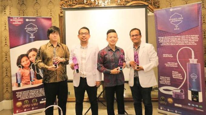 LiveWell Global Kembangkan Teknologi Air dan Inhalasi Hidrogen Pertama di Indonesia