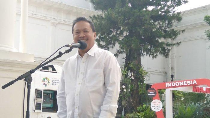 Mantan Bendahara TKN Jokowi-Ma'ruf, Wahyu Sakti Trenggono.