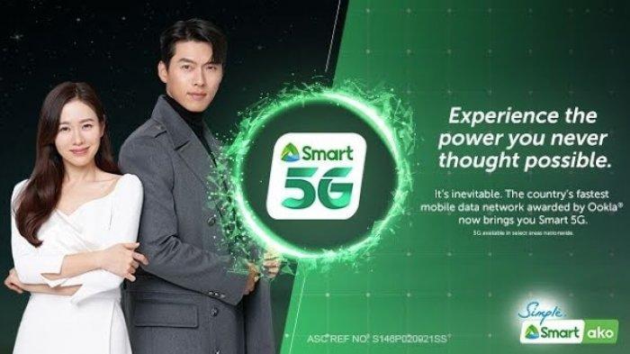 Hyun Bin dan Son Ye Jin untuk Smart Communications