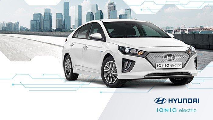 Hyundai Ioniq Electric Mobil Listrik Masa Depan Yang Menjadi Nyata Tribunnews Com Mobile