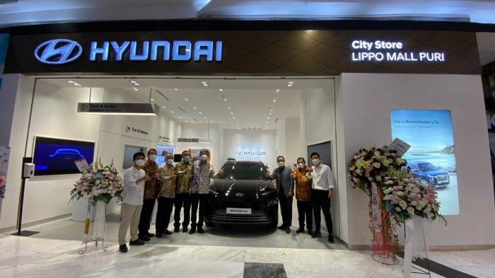 Diler Kedua Hyundai di Pusat Perbelanjaan Dibuka di Mal Puri Jakarta