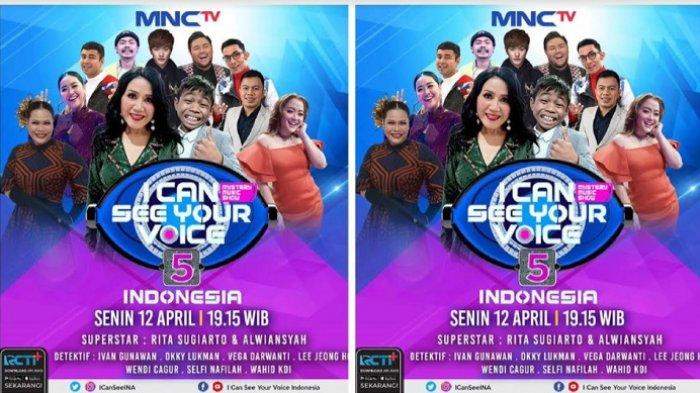 Kolaborasi Rita Sugiarto dan Alwiansyah Menebak Mistery Singer