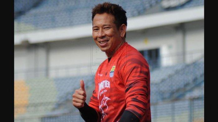 I Made Wirawan, Penjaga gawang Persib Bandung kelahiran 1 Desember 1981