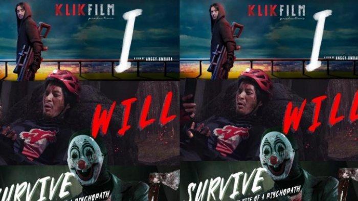 Poster film triller terbaru yakni I, Will dan Survive yang tayang di KlikFilm.
