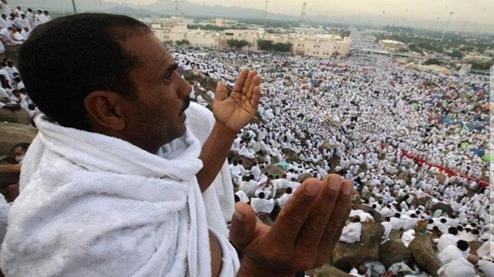 Wukuf di Arafah yang merupakan puncak pelaksanaan ibadah haji. Tahun ini, ibadah haji ditiadakan menyusul pandemi virus corona.