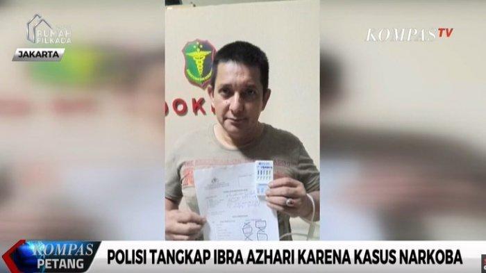 Ibra Azhari kedapatan memakai sabu dan ditangkap polisi Polda Metro Jaya pada (22/12/2019)