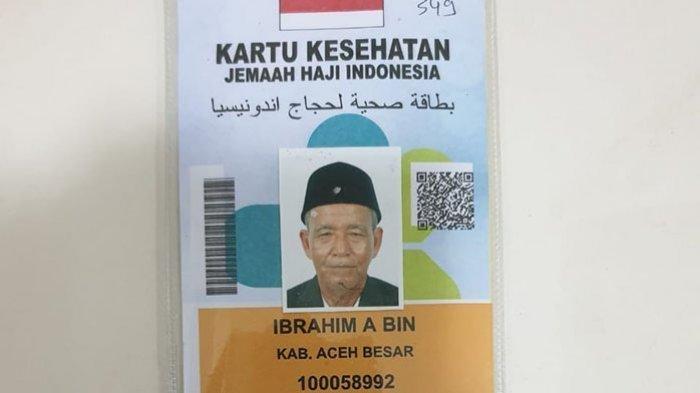 Ibrahim Abdullah Amin, Jemaah Haji Asal Aceh Meninggal Usai Salat Subuh