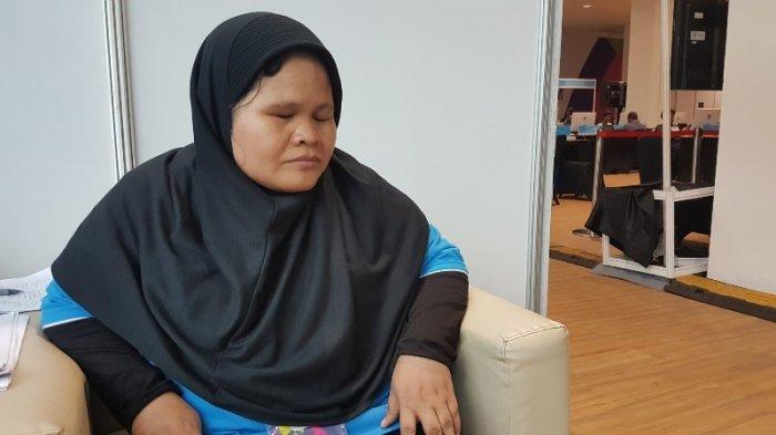 Curhat Ibu Aida Terapis Tuna Netra Yang Bangga Bisa Membantu Para Jurnalis Asian Para Games 2018